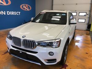 2016 BMW X3 xDrive28i AWD! HUGE PANO SUNROOF! NAVIGATION!