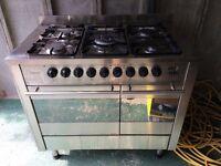 Diplomat dual fuel range cooker ADP5340