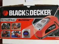 Black and Decker Air Station electric pump, 160 PSI / 11 Bar