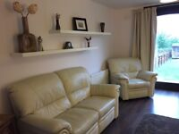 2 Bedroom flat for rent with sea view, fully furnished, Limekilns near Dunfermline.