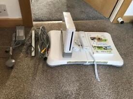 Nintendo Wii, Wii fit board and wii sports. Great condition!