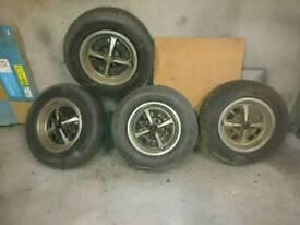Vauxhall Opel Chevette Kadett Manta etc Rostyle Wheels
