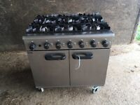 Pre-owned lincat commercial cooker