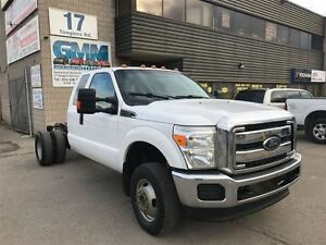 2012 Ford F-350 XLT Extended Cab Dually Cabin Chassis DRW 4X4 Ga