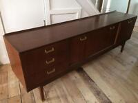 Really long 1950s E Gomme G Plan sideboard