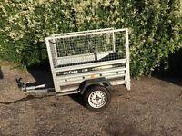 Daxara 158 Galavanised tipper trailer