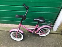 Children's bike pink