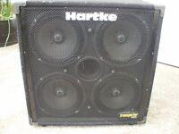 HARTKE 4X10 BASS CAB.
