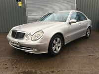 2003 MERCEDES E CLASS SALOON AUTO ***6 MONTHS MOT*** similar to golf 320 a3 a4