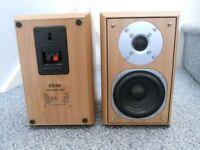 Eltax Millennium Mini bookshelf speakers.