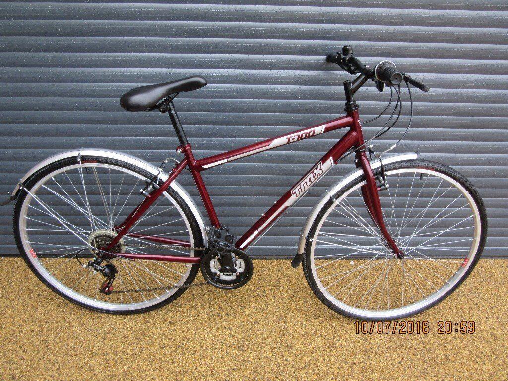 New Unisex Trax T700 Lightweight Hybrid Bike 18 46cm