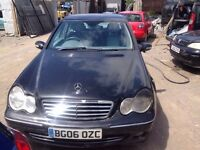 MERCEDES C200 CDI 2006 CAR BREAKING FOR SPARES