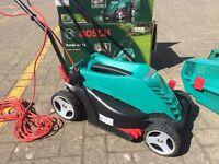 Bosch Rotak 34R Electric Lawnmower - as new