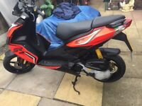 Aprilia sr 50 r 2017 cheapest in the uk £1695 learner legal moped motorcycle