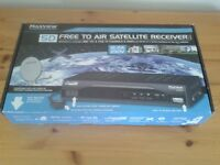 Maxview Free To Air SD Digital Satellite Receiver MXL020/SD with Infrared Eye Sensor