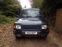Land Rover Discovery ES Luxury Model. FSH. 1 year MOT