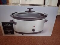 Tesco Silver 3L Slow cooker