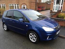 Ford Focus c max zetec 1.8 tdci 2007 65,000 £2,950