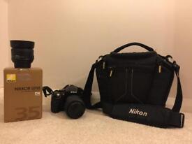 Nikon D5100 with 2 lens