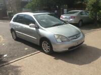 HONDA CIVIC 1.6 AUTOMATIC LOW MILES LONG MOT FULL SPEC £700