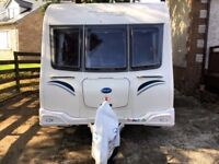 Bailey Olympus Series II 530-4 (2013) Single Axle, Fixed Bed Touring Caravan