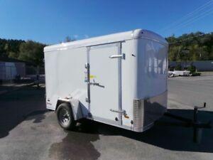 2018 US Cargo Trail Master Series - 6x10 - Enclosed trailer Rear