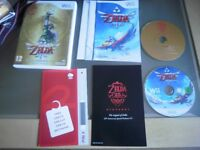 Zelda Skyward Sword & special orchestra cd limited edition for Wii