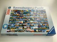 Ravensburger 3000 Jigsaw Puzzle with 99 beautiful places of Europe.