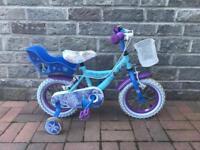 """Child's 12"""" Frozen Bike"""