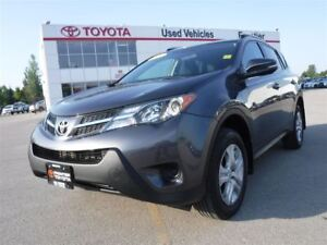 2014 Toyota RAV4 LE TOYOTA CERTIFIED PRE OWNED