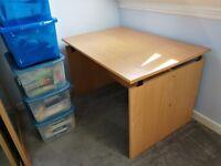 Quality Sturdy Office Desk - 120cms Wide
