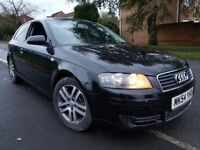 AUDI A3 1.6 MPI SPECIAL EDITION - 12 months MOT - BLACK S3 REPLICA