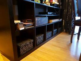 Shelves with TV unit