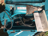Makita 8406 Core Drill / Hammer Drill With Safety Clutch 240v
