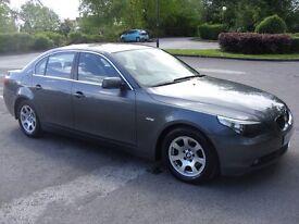 2005 BMW 525D SE AUTO,LEATHER,FULL HISTORY,12 MONTHS MOT,STUNNING.