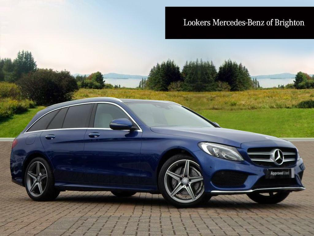mercedes benz c class c220 d amg line premium blue 2016 07 18 in portslade east sussex. Black Bedroom Furniture Sets. Home Design Ideas