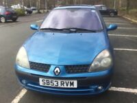 Clio dynamic 5 door, lovely clean car, , service history