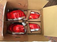 Volkswagen golf mk6 rear lights 2009-2012