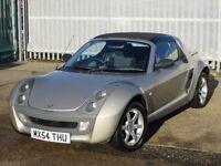2004 (54 reg), Smart Roadster 0.7 Targa 2dr
