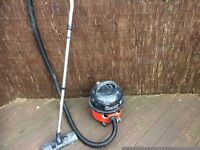 Henery hoover been used by a paint and decorator but fully working condition