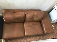 Free Sofa Light brown color