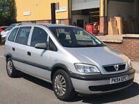 2004 Vauxhall zafira Life 1.6i 7 Seater MPV