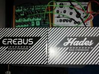 Dreadbox Erebus mk2 and dreadbox hades with extra patch cables