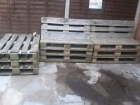 Upcycled Pallet Benches and Table