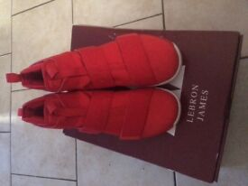 Lebron James red trainers