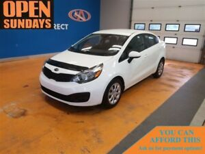 2014 Kia Rio LX! A/C!! CLEAN CARPROOF! FINANCE NOW!
