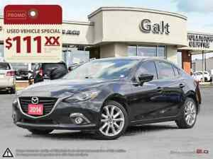 2014 Mazda Mazda3 GT | LEATHER SUNROOF NAVI HEADS UP DISPLAY