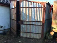 Portable storage site buildings 7ft wide. Approx 16ft in legth