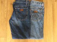 2 x Wrangler Jeans