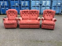 Suite for sale with electric rise recliner Possible delivery